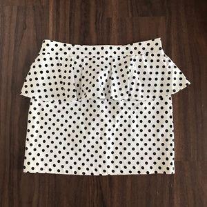 MINKPINK Polka Dot Skirt